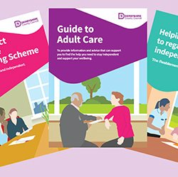 Adult care leaflets