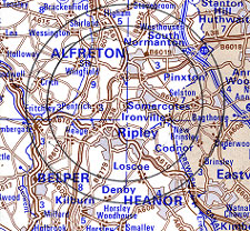 Alfreton-50-plus-forum-map