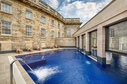 Outdoor pool at Buxton Crescent Hotel and Spa