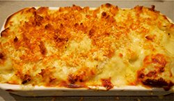 cauliflower and potato bake