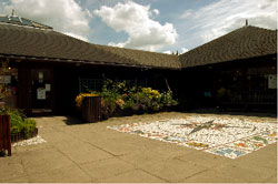 Visitor Centre Courtyard