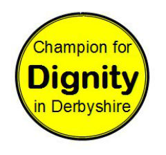 champion for dignity in Derbyshire