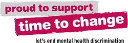 proud to support time to change let's end mental discrimination