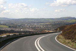 A road in Glossop